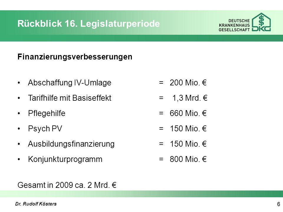 Dr. Rudolf Kösters 6 Rückblick 16.