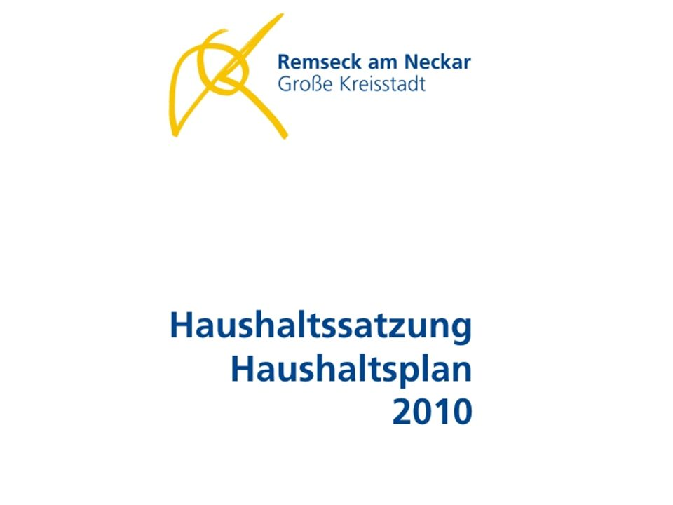 Seite 1 Haushaltssatzung 2010 Volumen Verwaltungshaushalt37,530 Mio.