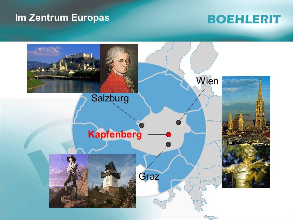 © Boehlerit GmbH & Co.KG, A - 8605 Kapfenberg SawTec Seite 2 Gerhard Melcher Wien Salzburg Kapfenberg Im Zentrum Europas Graz
