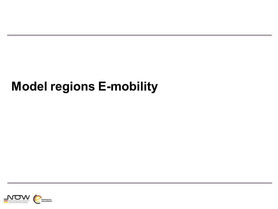 Model regions E-mobility
