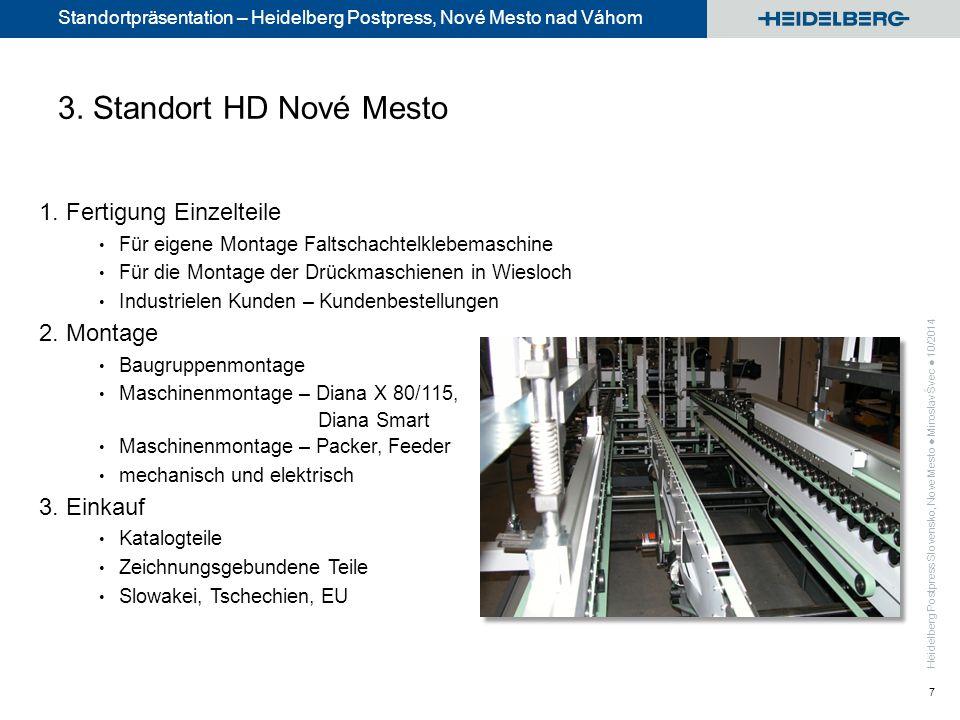 Standortpräsentation – Heidelberg Postpress, Nové Mesto nad Váhom 7 1.