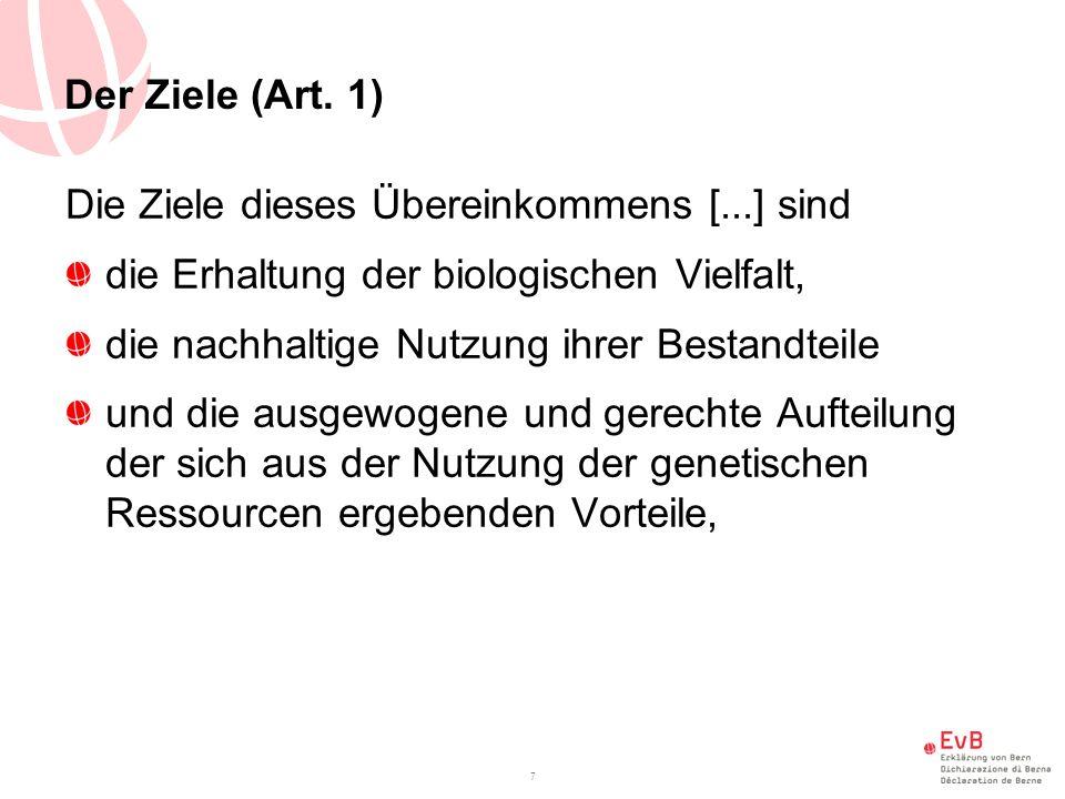 Der Ziele (Art.