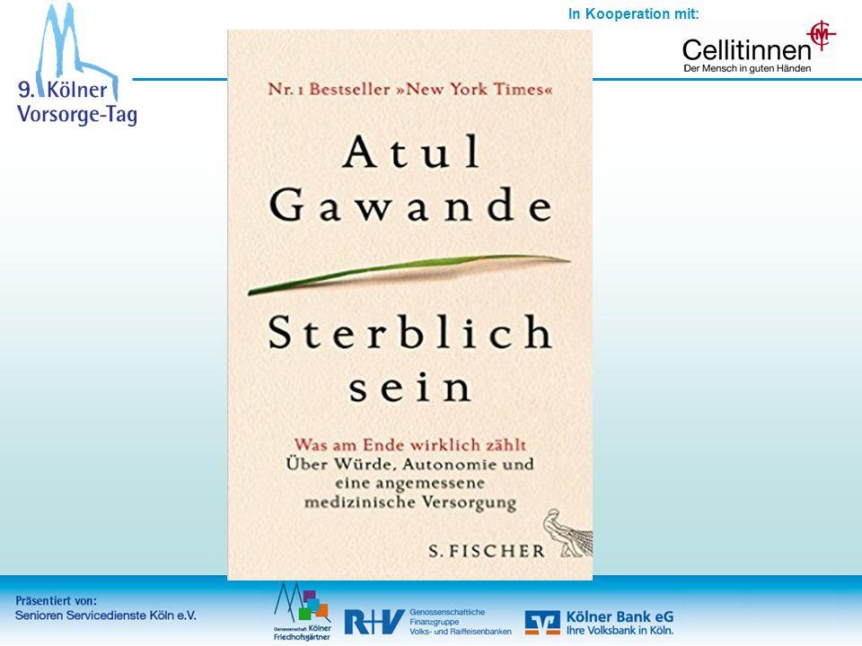 In Kooperation mit: Schwierige Gespräche führen- WEITERE LEKTÜRE Gawande, Atul (2015).