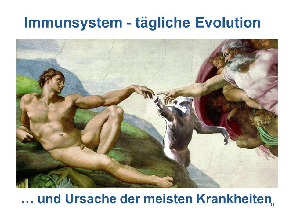 11 Immunsystem - tägliche Evolution … und Ursache der meisten Krankheiten