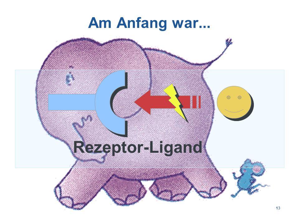 13 Am Anfang war... Rezeptor-Ligand