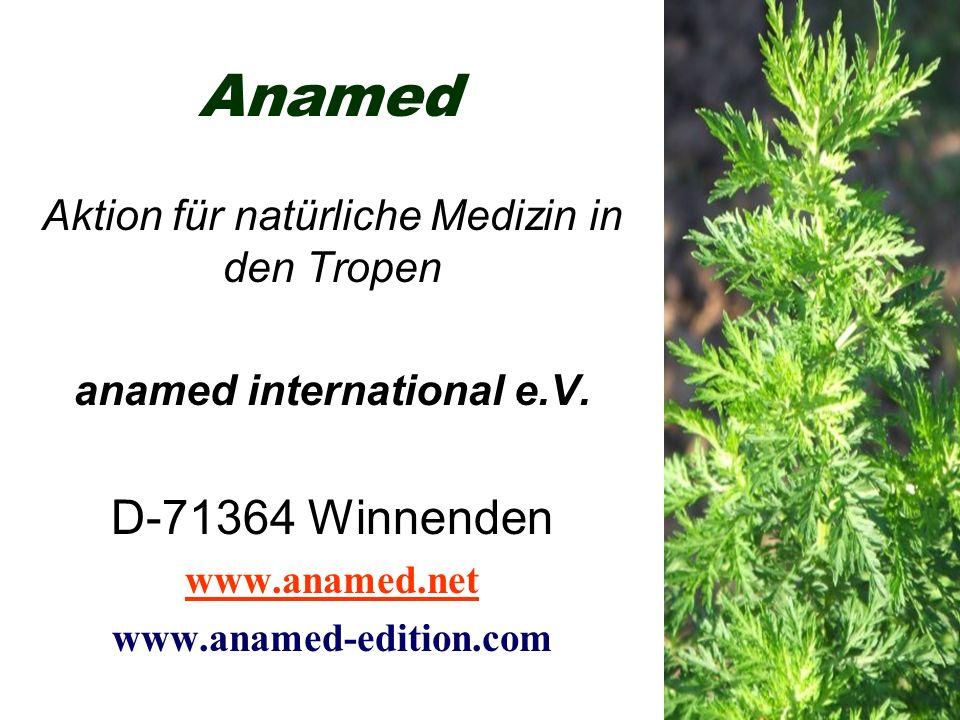 Anamed Aktion für natürliche Medizin in den Tropen anamed international e.V.