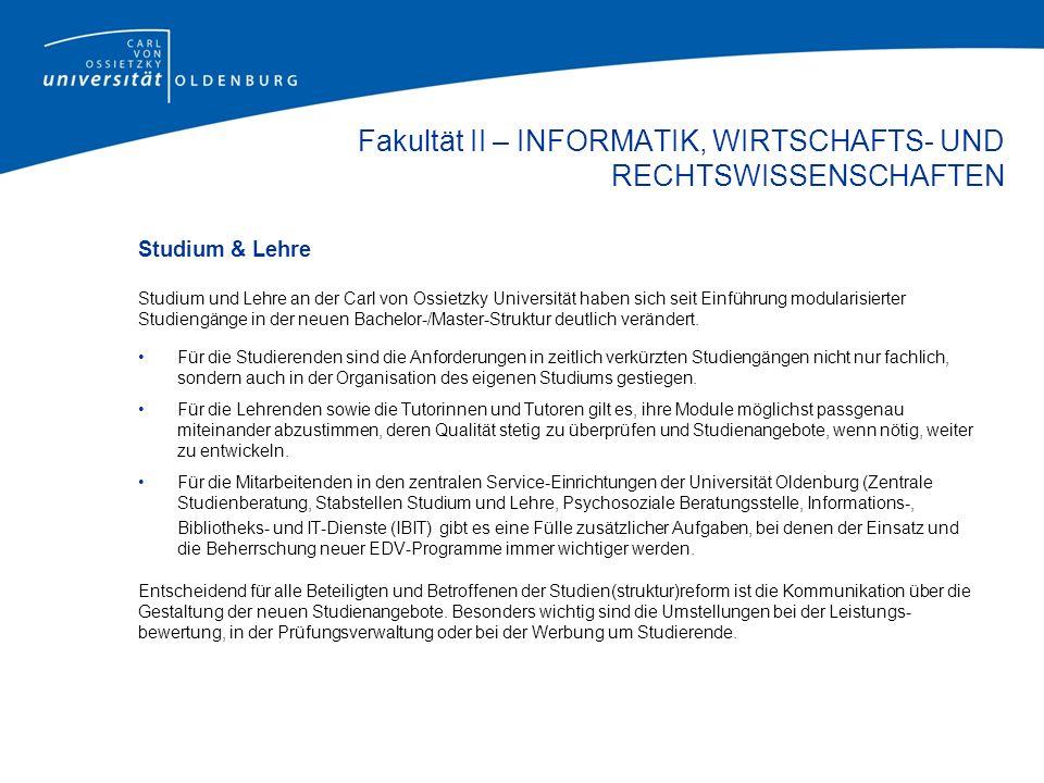 Bachelor Studiengänge Informatik Informatik (B.Sc.) Wirtschaftsinformatik (B.