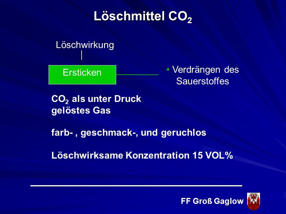 FF Groß Gaglow Brandklasse D Brennbare Metalle Löschmittel Schaum Brandklasse F Fettbrände