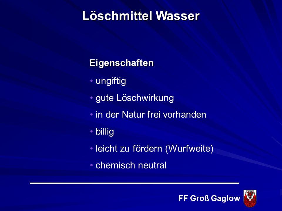 FF Groß Gaglow Abkühlen Entzug von Energie ( Reaktionswärme) Wärmekapazität von Wasser 1 kg Wasser 36 0 C 1 kg Wasser 37 0 C 4,2 kJ Energie 1 0 C Lösc