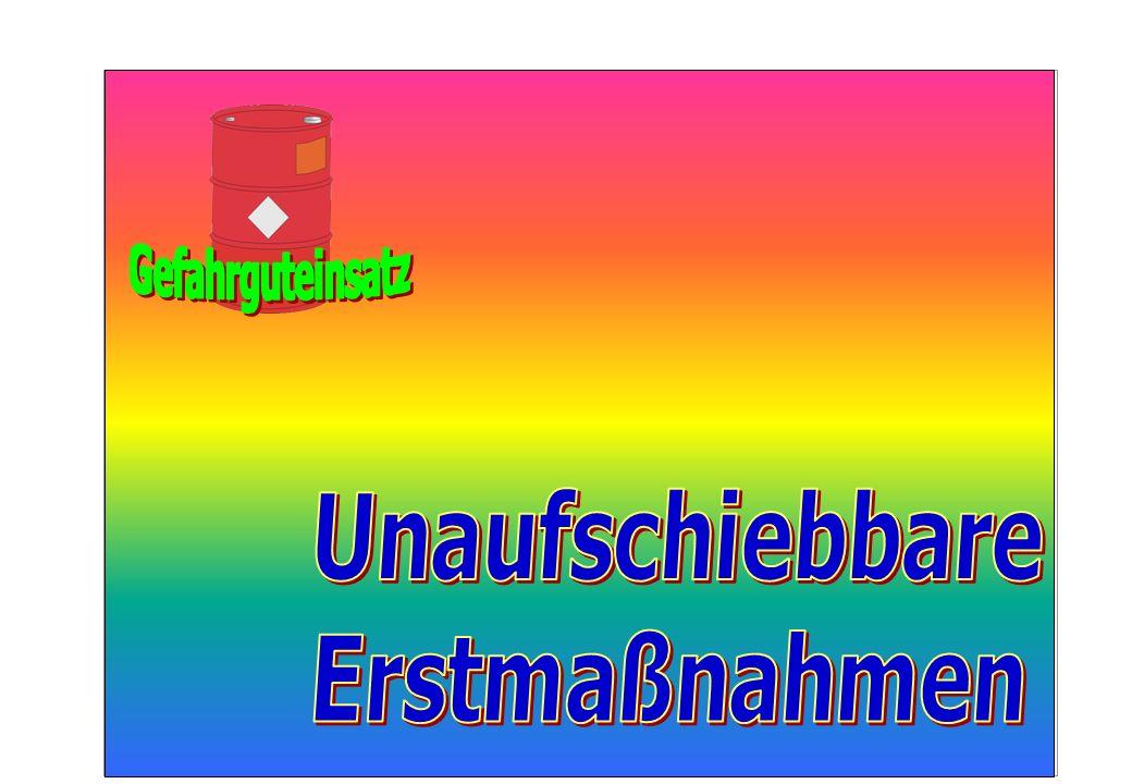 25 Maßnahmen im Absperrbereich  Grob- dekontamination Personen / Gerät  Dekontamina- tionsplatz  Dekon-Einheit
