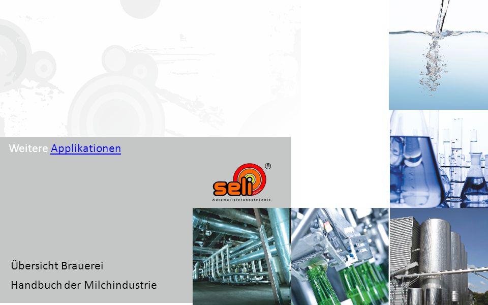 Weitere ApplikationenApplikationen Übersicht Brauerei Handbuch der Milchindustrie