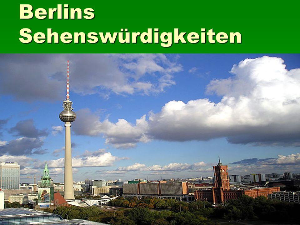 Berlins Sehenswürdigkeiten