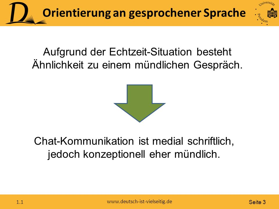 """Seite 4 www.deutsch-ist-vielseitig.de 1.1 Schwa-Tilgung (Murmel-ə entfällt): """"Da gehn wa heut nich hin! """"Das glaub ich nich."""