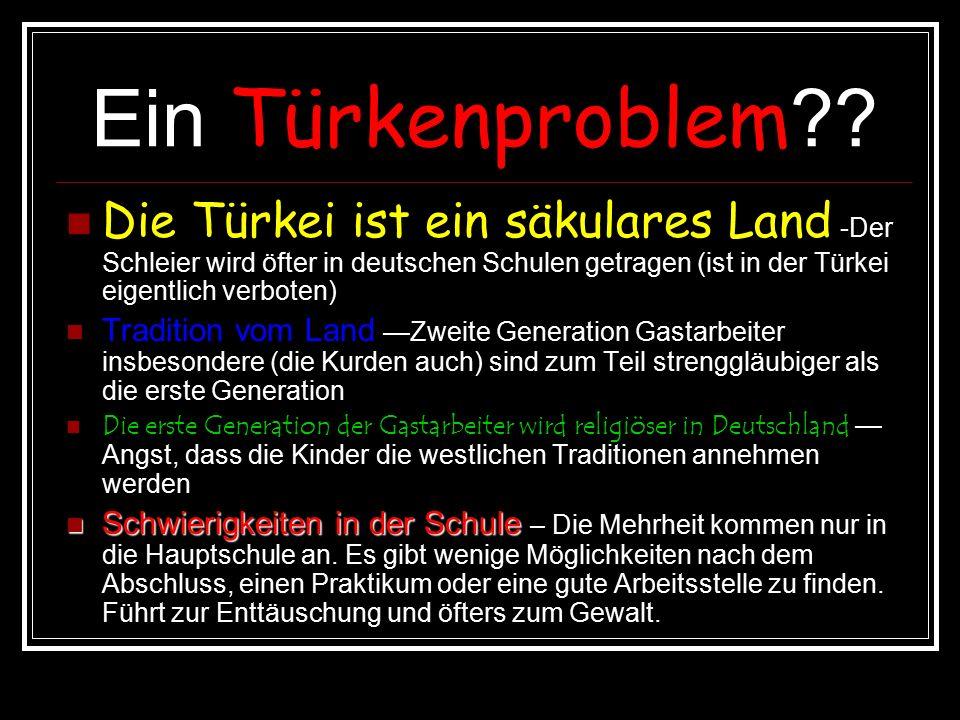 Ein Türkenproblem .