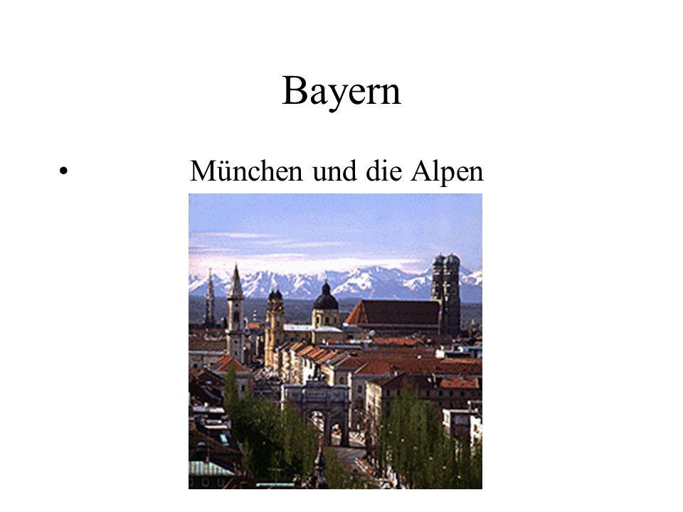 Bayern München und die Alpen