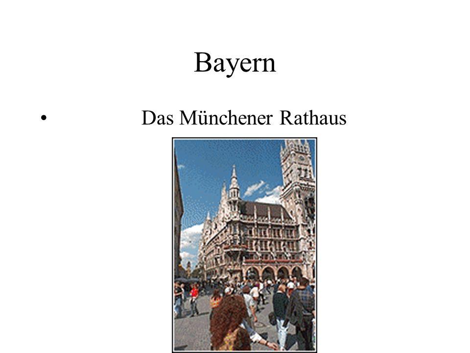 Bayern Das Münchener Rathaus