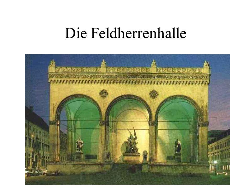 Die Feldherrenhalle