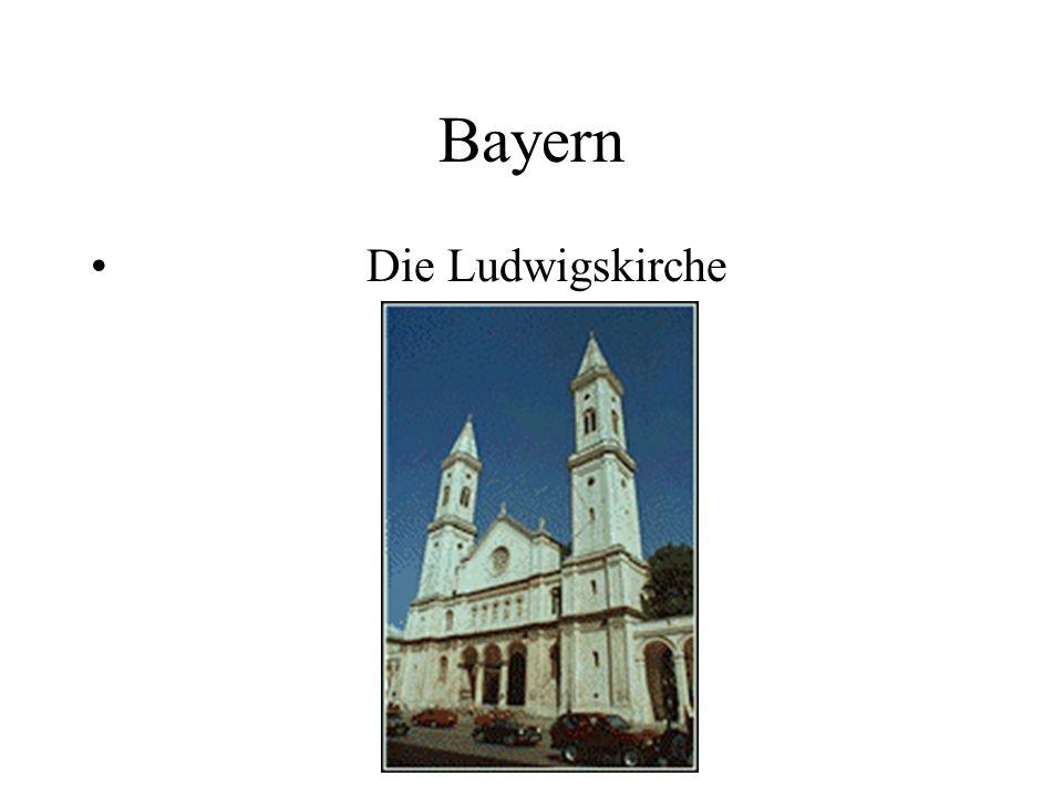 Bayern Die Ludwigskirche
