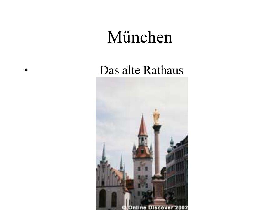 München Das alte Rathaus