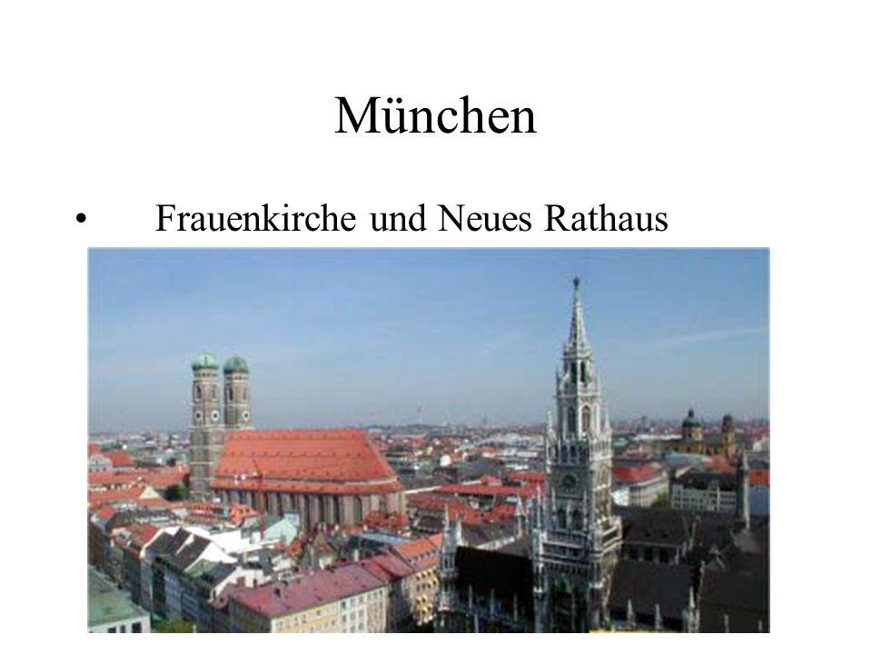 München Frauenkirche und Neues Rathaus