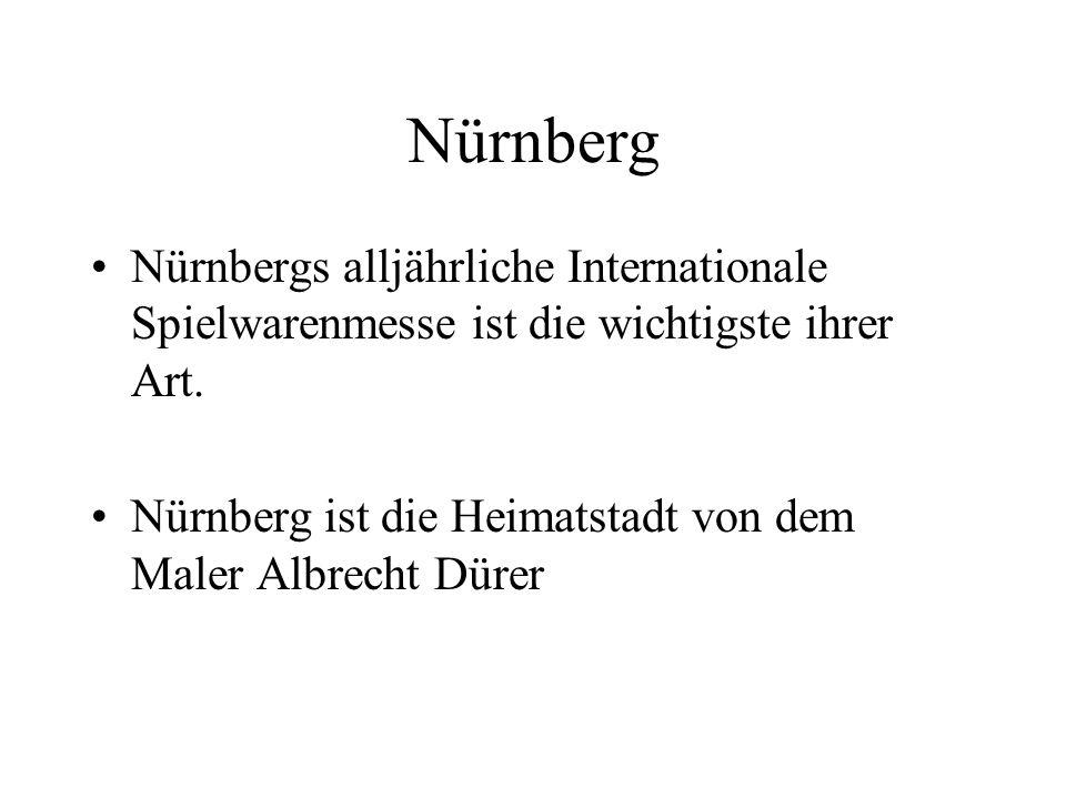 Nürnberg Nürnbergs alljährliche Internationale Spielwarenmesse ist die wichtigste ihrer Art.