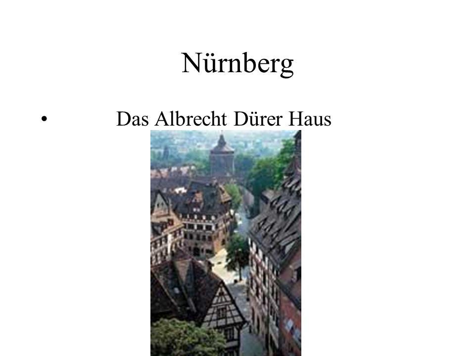 Nürnberg Das Albrecht Dürer Haus