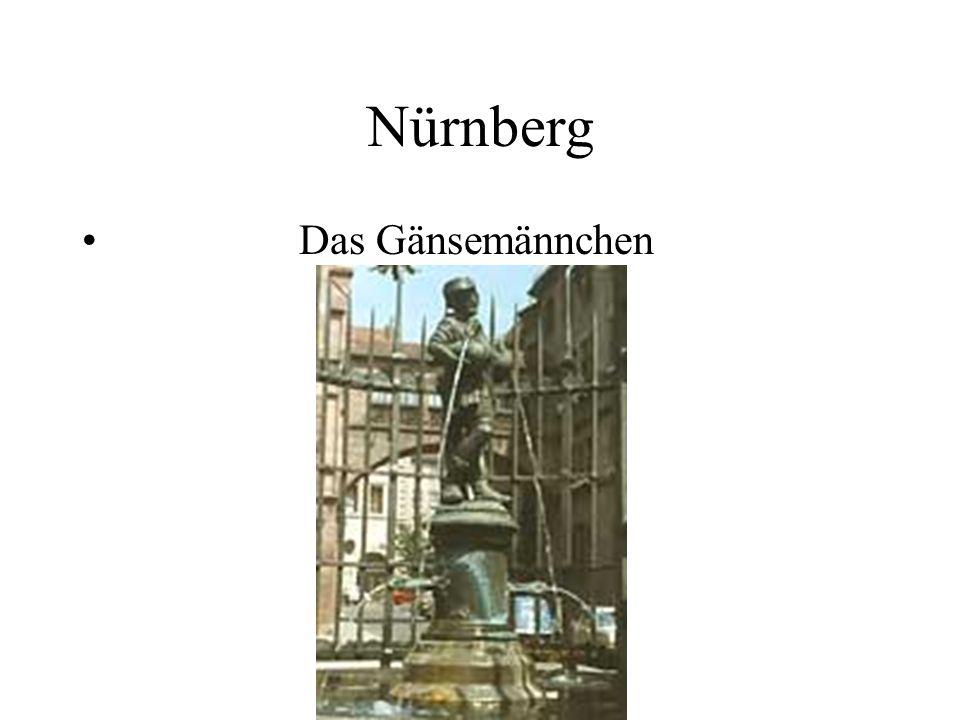 Nürnberg Das Gänsemännchen