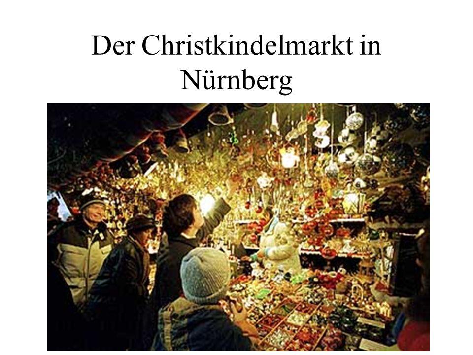 Der Christkindelmarkt in Nürnberg