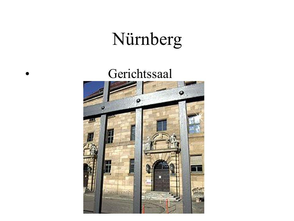 Nürnberg Gerichtssaal