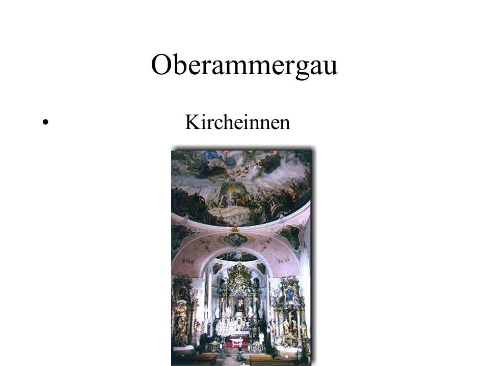 Oberammergau Kircheinnen