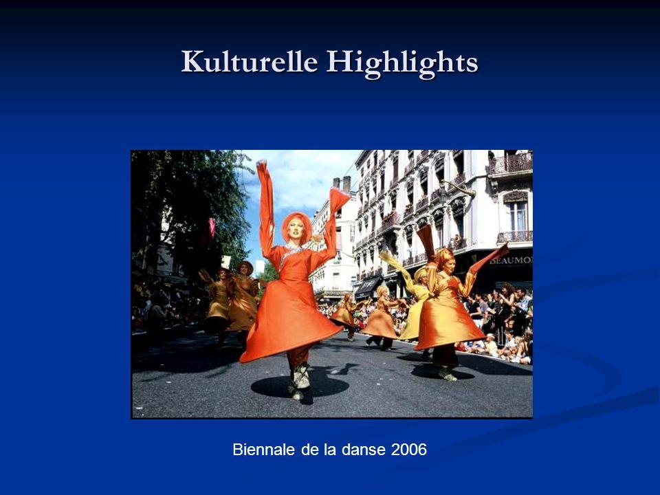 Kulturelle Highlights Biennale de la danse 2006