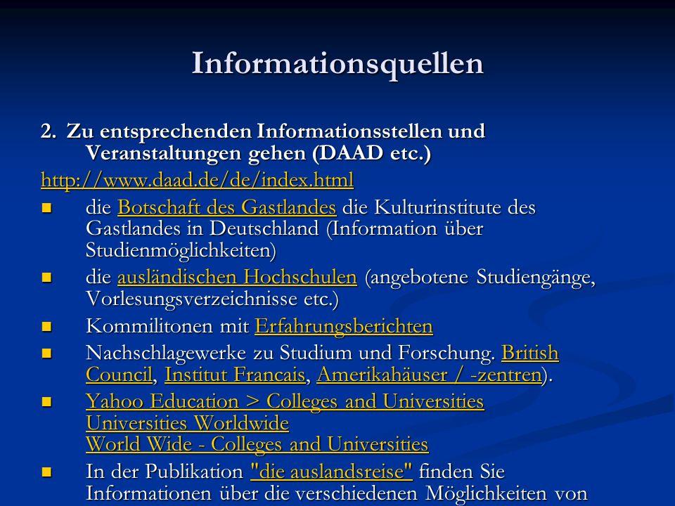 Informationsquellen 2.