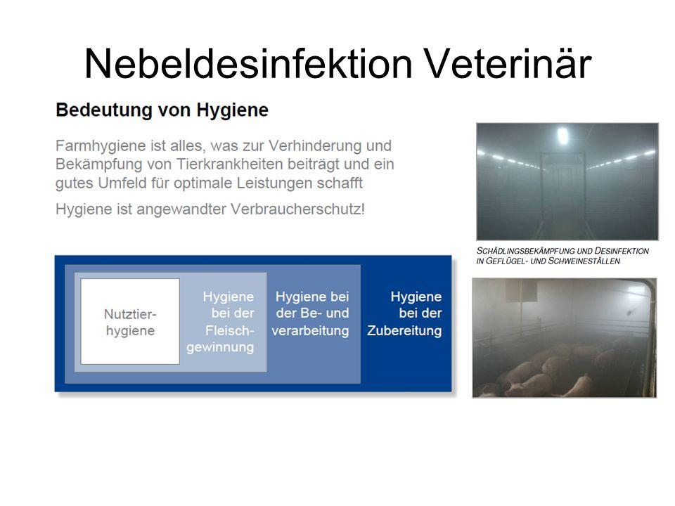 Nebeldesinfektion Veterinär
