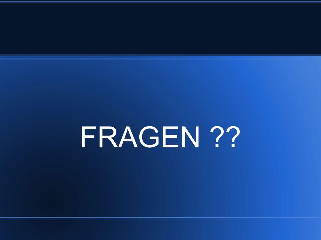 FRAGEN ??