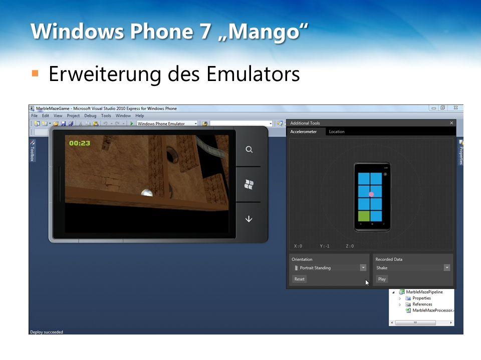  Erweiterung des Emulators