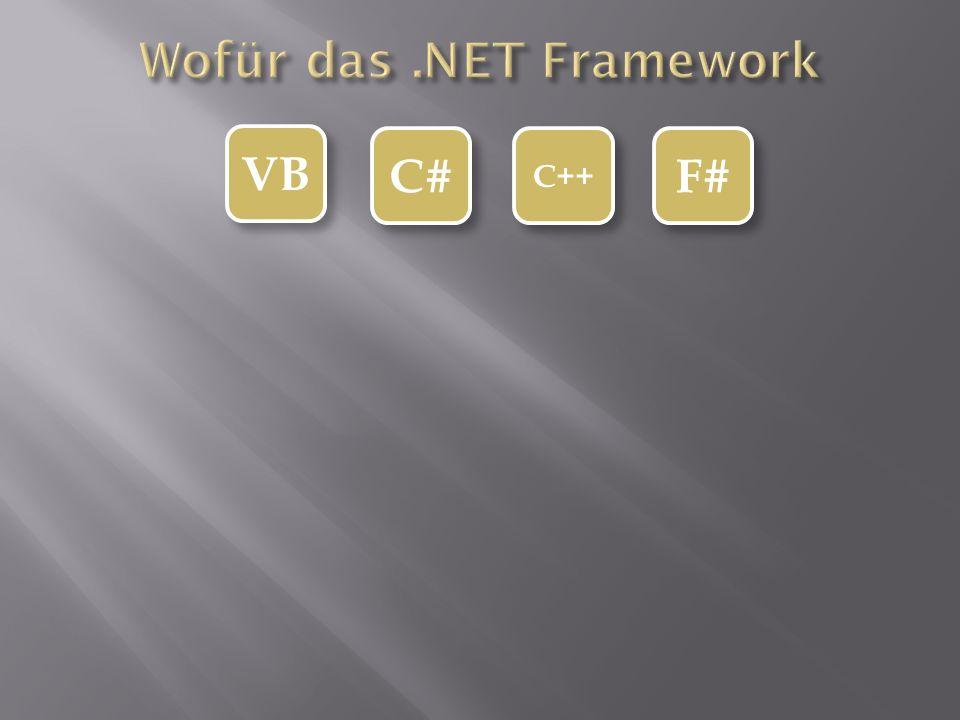 VB C# C++ F#
