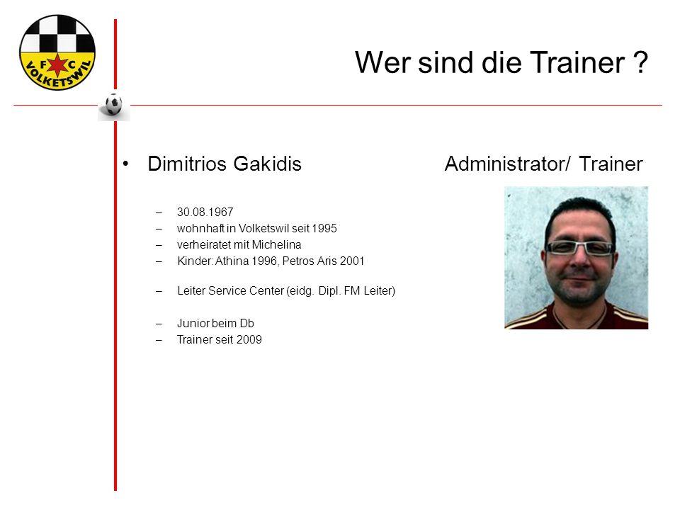 Wer sind die Trainer .Michael Bosshard Trainer - Eb –geb.
