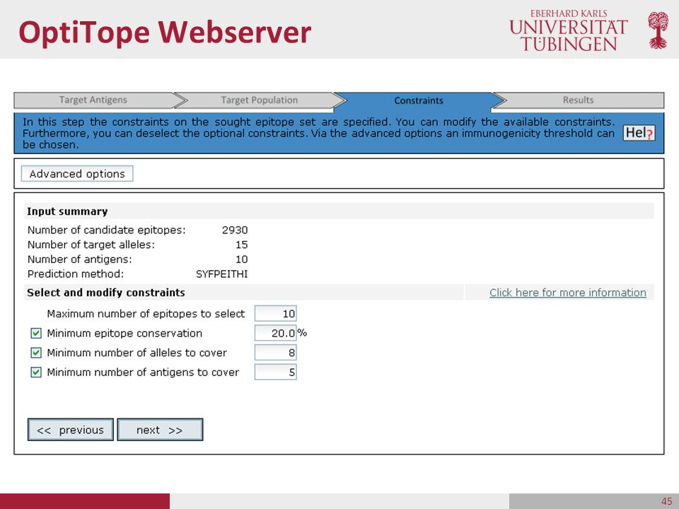 OptiTope Webserver 45