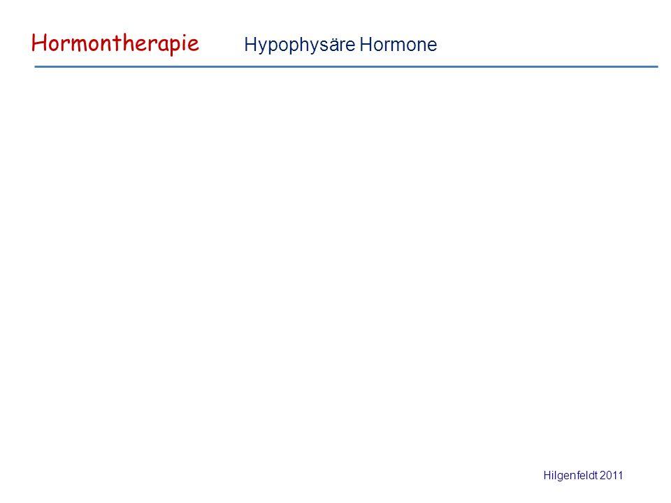 Hormontherapie Hilgenfeldt 2011 Hypophysäre Hormone