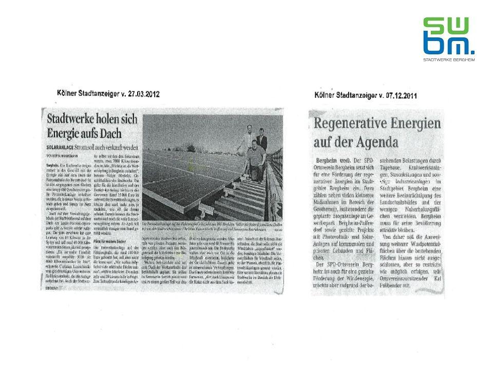 Ratsbeschluss vom 28.11.2011 Ziel: Energetisches Gesamtkonzept → breitgefächert → mehrere Partner → Bürger einbeziehen → Wirtschaftlichkeit  Wertschöpfungskette in Bergheim