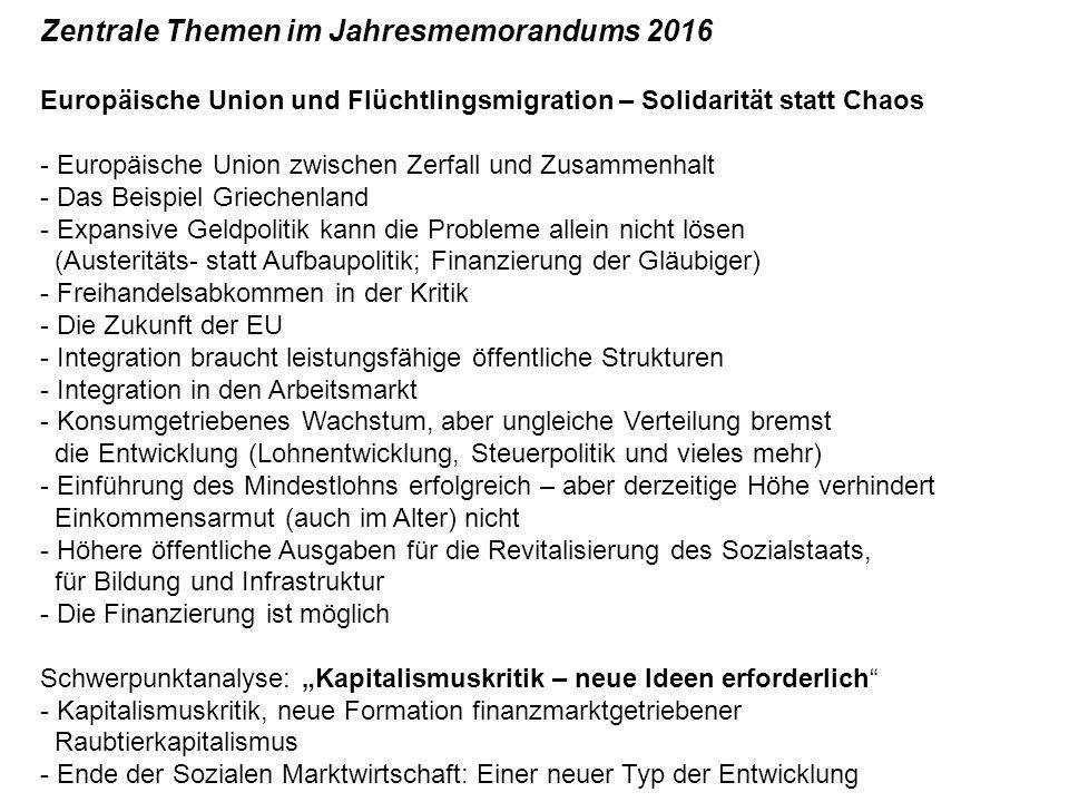 Die besondere Herausforderung: Die Spekulanten Draghis Ceterum censeo (...
