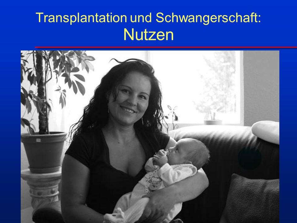 Transplantation und Schwangerschaft: Nutzen