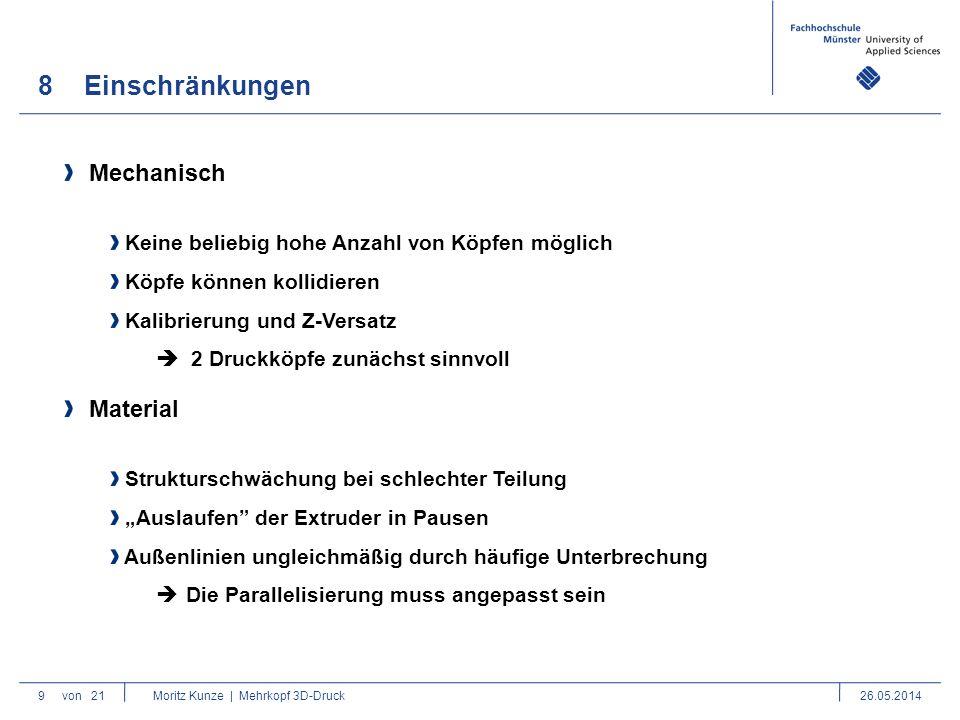 9Vorhandene Lösungen 10von 21 Moritz Kunze | Mehrkopf 3D-Druck26.05.2014 Multiple Farben Duplizierende Technologien