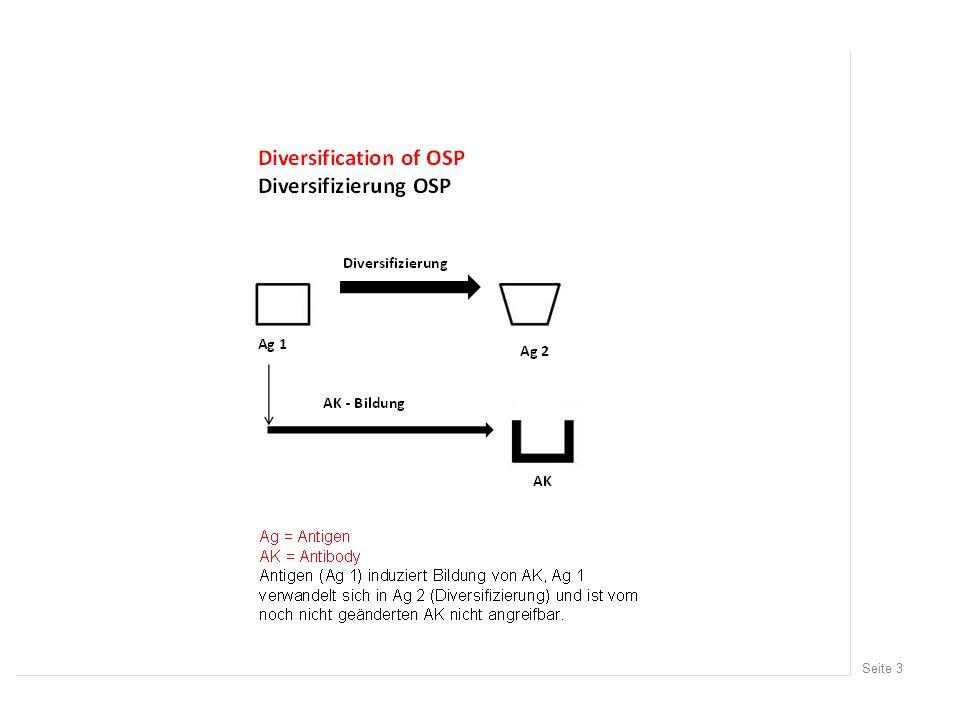 Seite 14 Development of biofilm (Bb) Entwicklung von Biofilm bei Borrelia burgdorferi (Sapi et al, 2012) 0-2 Tage 3-6 Tage 7-21 Tage