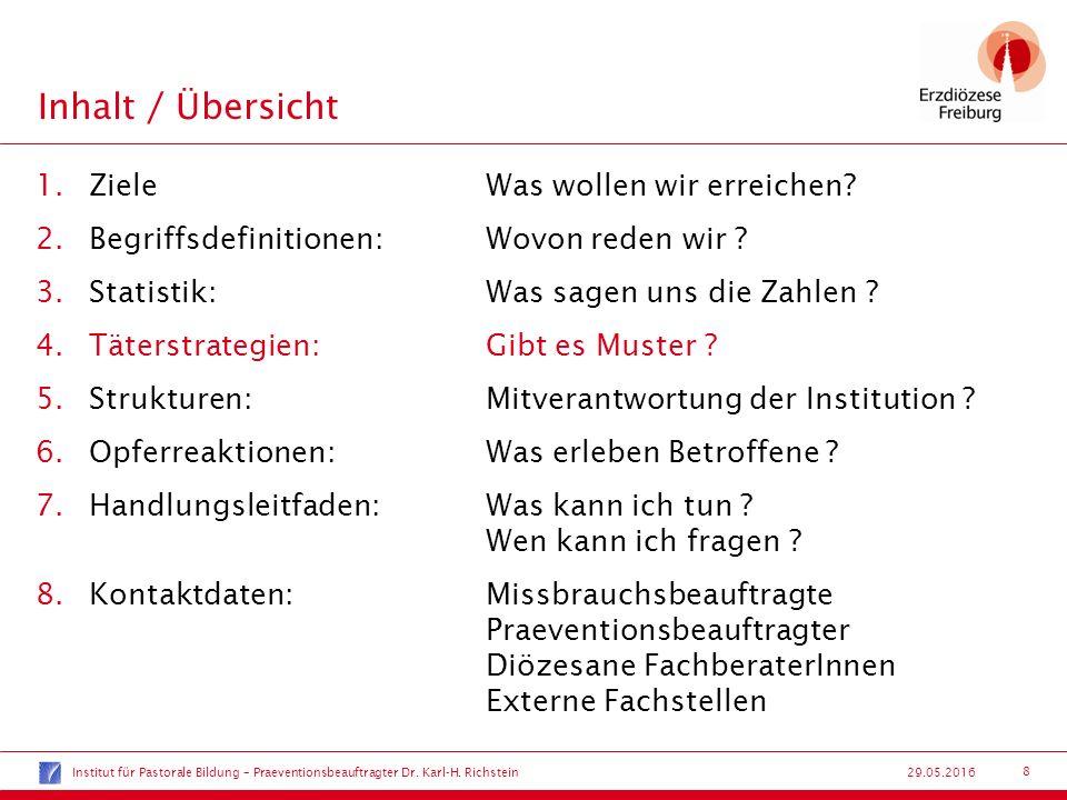 9 29.05.2016 Täterstrategien:Gibt es Muster .