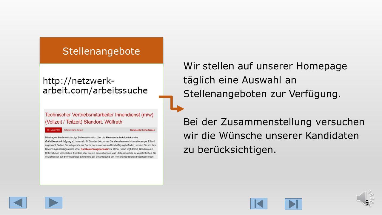 Tag 5-7: Bewerbungs- bearbeitung Unterlagen in 2 Varianten Abhängig von den Unterlagen und der Zusammenarbeit ist das Ziel, das vom ersten Kontakt bis