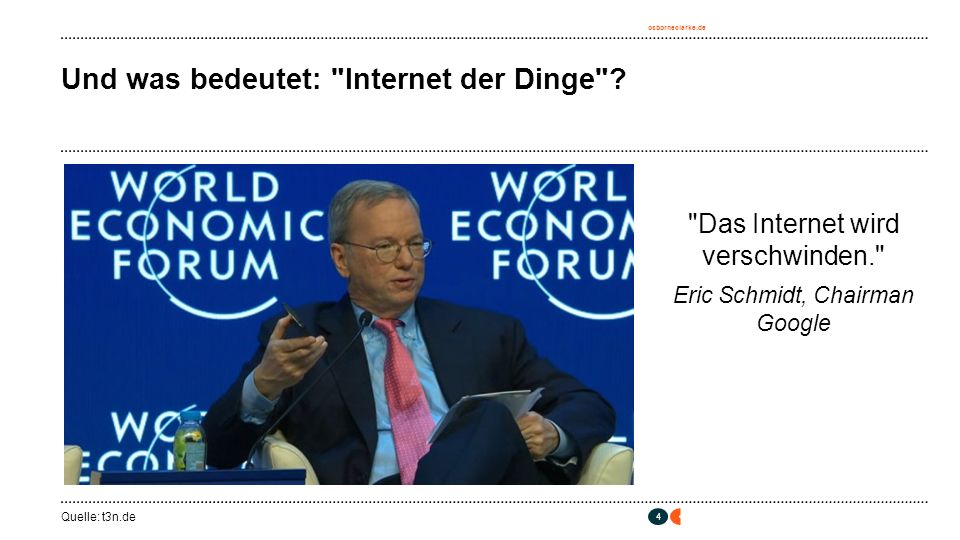 osborneclarke.de 4 Und was bedeutet: Internet der Dinge .