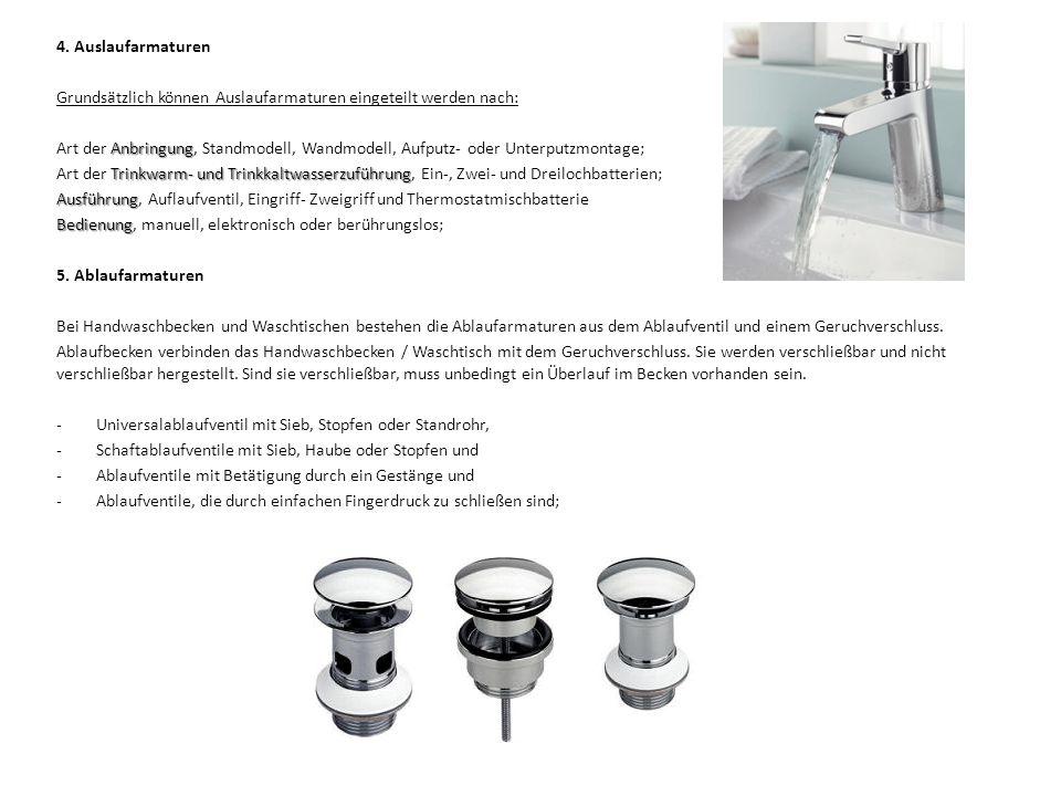 1.Nutzung und Verwendungszweck Klosettanlagen dienen zur Entsorgung von Fäkalien (Urin und Kot).