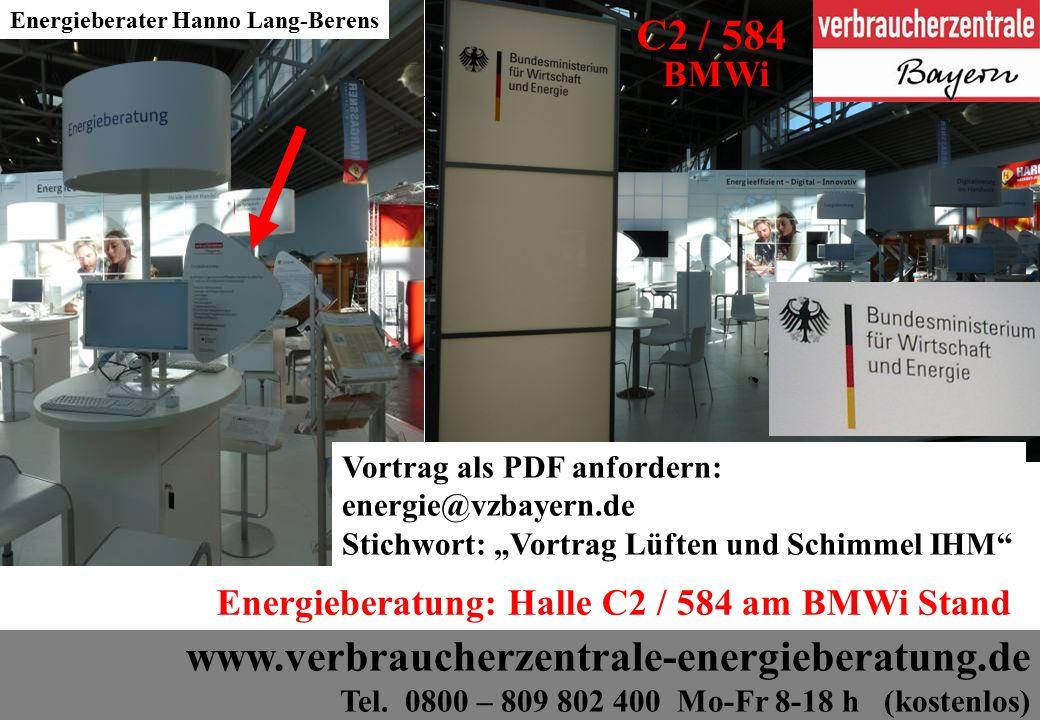 3 www.verbraucherzentrale-energieberatung.de Tel.