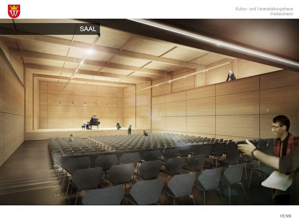 Kultur- und Veranstaltungshaus Weikersheim HENN SAAL